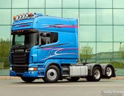 cab over engine Scania R730-V8 6X2 LONGLINE XXL - PTO + HYDRAULICS NEW CONDITION 2011