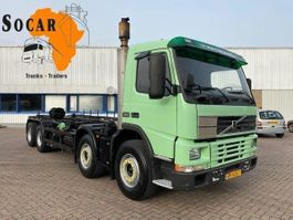 chassis cab truck Volvo FM12 8X4 FULL STEEL. MANUAL-GEAR (EURO2) 2000