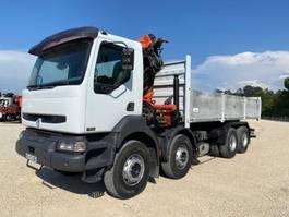 tipper truck > 7.5 t Renault Kerax 2006