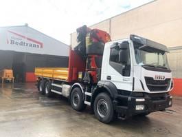 crane truck Iveco Trakker 450 Palfinger 78002-sh + Jib pj 170 2021 2021