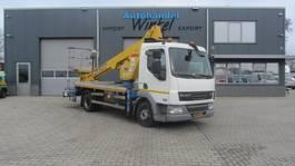 crane truck DAF FA LF45 CMC PLA 210 21METER 2012