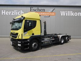 container truck Iveco Stralis 420 6x2 Abrollkipper 2017
