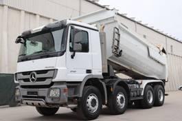 tipper truck > 7.5 t Mercedes-Benz Actros 4141 MP3 8x4 E5 Meiller Kipper 2011