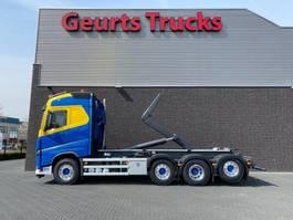container truck Volvo FH 8X2 TRIDEM + AJK HAAKARMSYSTEEM/ABROLLKIPPER/HOOKLIFT 2018