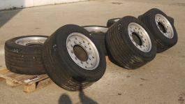 tyres truck part Goodyear 455/40 R22.5 Super Single