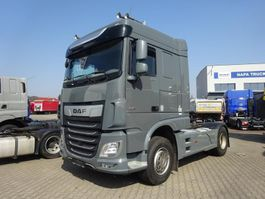 cab over engine DAF XF 530 FT Space Cab Skirts Grey Intarder 9t front axle 2018