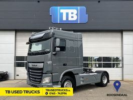 cab over engine DAF XF FT Space Cab Skirts Grey Intarder 9t front axle 2018