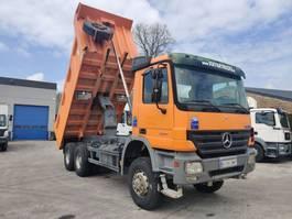 tipper truck > 7.5 t Mercedes-Benz 3341 AK 6X6 Meiller Heavy Duty 2005