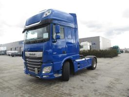 cab over engine DAF XF 480 FT Super Space Cab Hydrauliek LED Skirts Blue Used NH4C 620L 2018