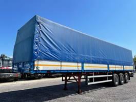 drop side semi trailer Piacenza S36 1987