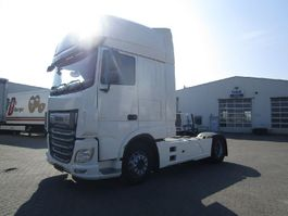 cab over engine DAF XF 480 FT Super Space Cab LED Skirts Fenders Spoilers White Intarder 2018