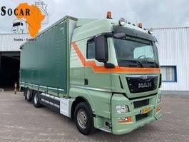 drop side truck MAN TGX 26 400 6x2  Pluimvee / Geflügel / Chicken Transport 2014