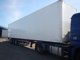 closed box semi trailer Kel-Berg Box Trailer 2009