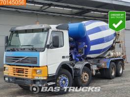 concrete mixer truck Volvo FM12 8X4 Manual Big-Axle Steelsuspension Euro 2 2000