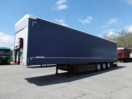 sliding curtain semi trailer Schwarzmüller Standard neutral Liftachse Palettenkasten LASI X 2012