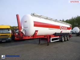 tank semi trailer semi trailer Feldbinder Powder tank (tipping) 63 m3 2000