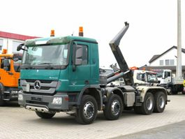container truck Mercedes-Benz Actros 3241 K 8x4 Abrollkipper Meiller 30to 2009