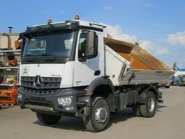 tipper truck > 7.5 t Mercedes-Benz 1830 AK 2-Achs Allradkipper Meiller 2018