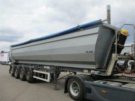 tipper semi trailer Kel-Berg 4 aks tip trailer 2012
