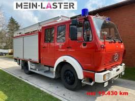 other trucks Mercedes-Benz 1222 Feuerwehr Doppelkabine LF16 nur 19.430 km 1989