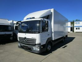 closed box truck Mercedes-Benz Atego 816 IV Koffer 6,10 m LBW MBB 1 to. 2017
