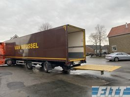 closed box semi trailer Renders ROC 12.20 2ass gesloten oplegger, klep, 2x stuuras 2012