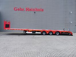 flatbed semi trailer KAESSBOHRER LB3E 5.8 M Extand. Liftaxle Mega Like New! 2019