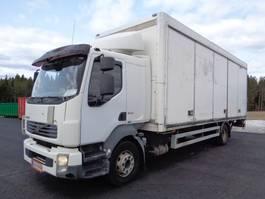 closed box truck Volvo FL240 4x2 5600 2007