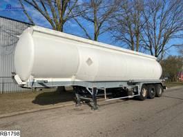 tank semi trailer semi trailer Fruehauf Fuel 39520 Liter, 9 Compartments 1993