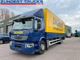 closed box truck Renault Premium dci 2012