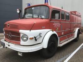 fire truck Mercedes-Benz L 1418 BRANDWEERWAGEN TWO SPEED 1972