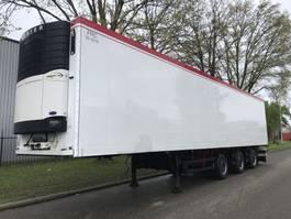 refrigerated semi trailer Schmitz Cargobull SKO24  carrier vector 2 stuurassen 2010