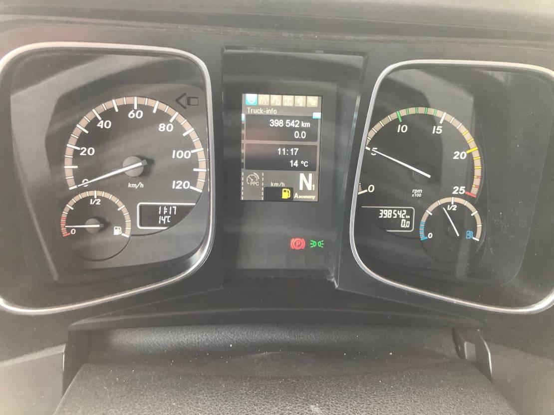 cab over engine Mercedes-Benz Actros 1940 / StreamSpace / 398 dkm! / APK TUV 01-2022 2016