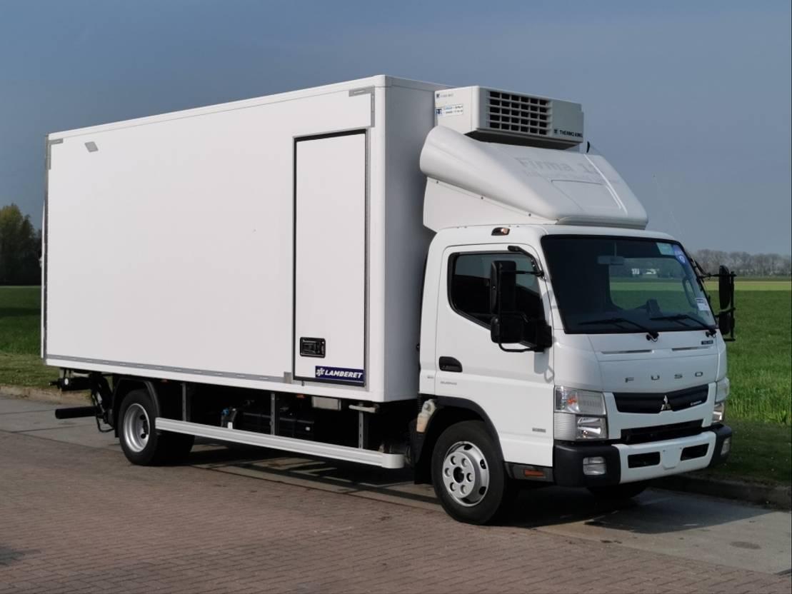 refrigerated truck FUSO 7C18 lamberet tkv600 2016