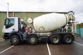 concrete mixer truck Iveco Trakker 410 8X4 MIXER 8 M3 2008