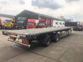 flatbed semi trailer HRD Open laadbak | 2x Stuuras 2001