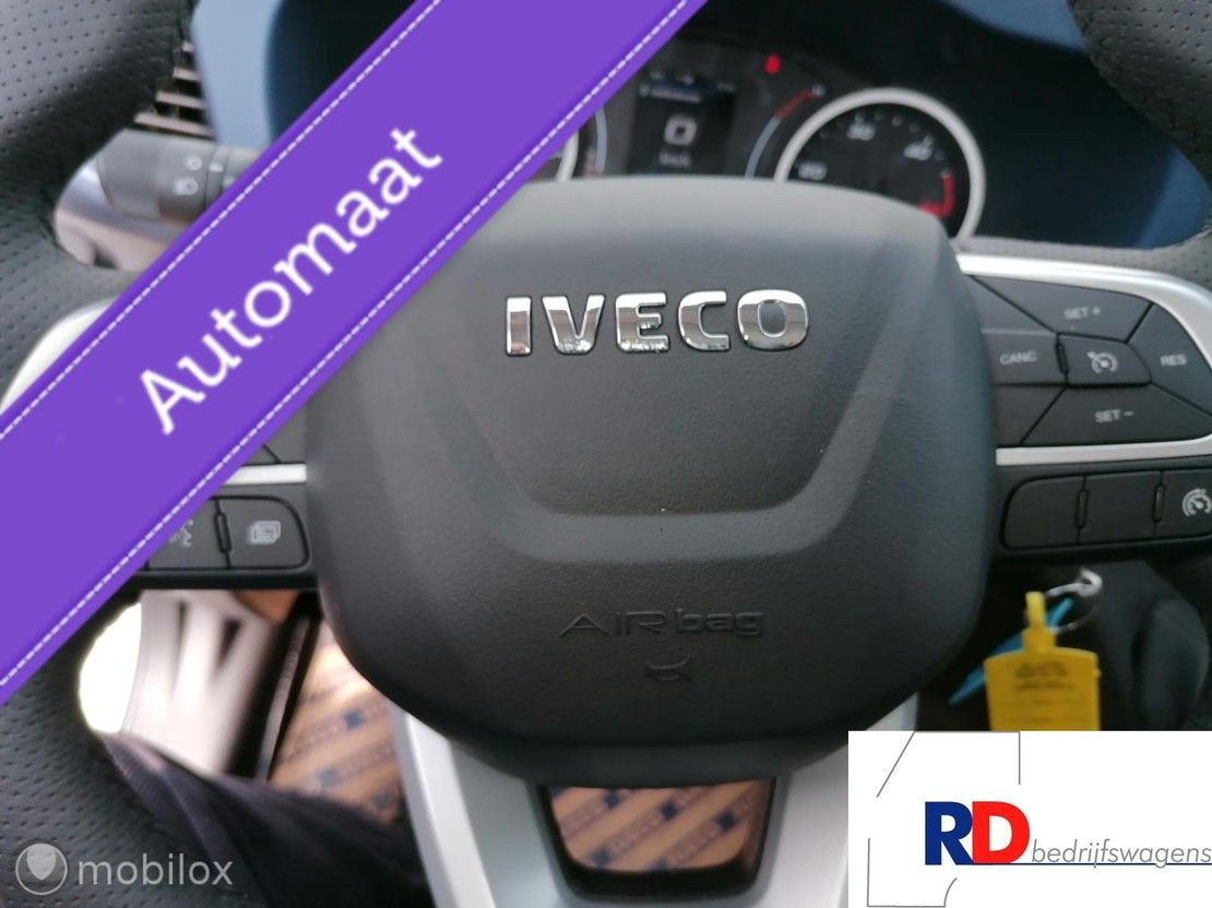 platform lcv Iveco Daily 35 -180A8 met gegalvaniseerde open laadbak (D) AUTOMAAT -TACHO - EURO 6D AH... 2021