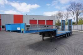 flatbed semi trailer Nooteboom MCO-48-03L / 3X STEERING AXLE / NEW LOADING FLOOR / 45000KG / 2002 2002