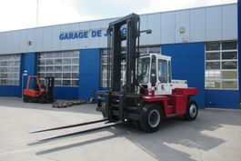 forklift Kalmar DB-12 600 / 12Ton / Weightsystem / Side Shift / Vorkenversteller 1986