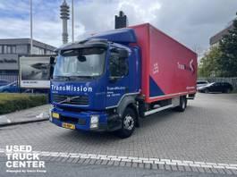 closed box truck Volvo FL240 4x2 Rigid Closed Box Euro 5 2013