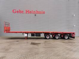 flatbed semi trailer ES-GE 3.VOD-18-30.3H 15.4 M Extand. Powersteering! 2010