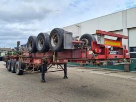 container chassis semi trailer Fruehauf Container Chassis Full Steel / 40ft. / 30ft. / 20ft. 1986