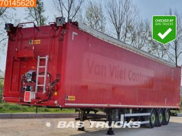 Schubbodenauflieger Legras 3 axles NL-Trailer / 82m3 / Liftachse 2012