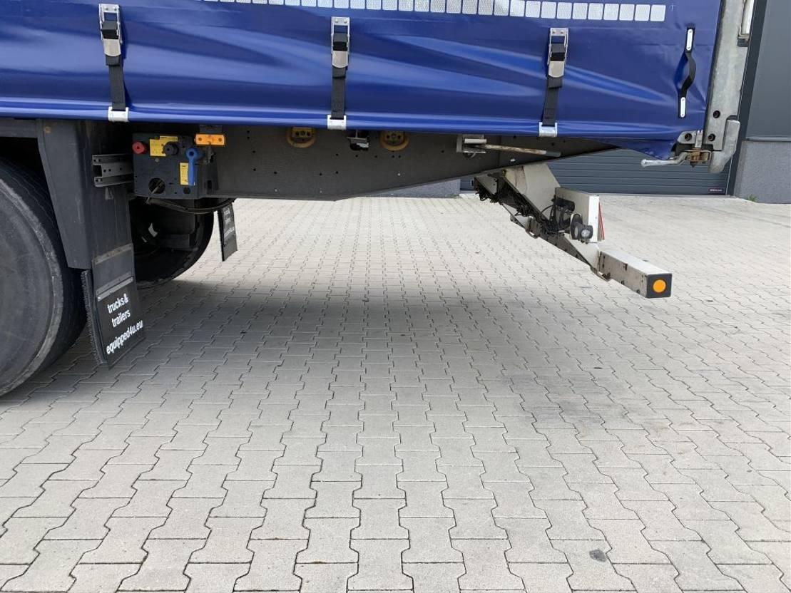 Schiebeplanenauflieger Schmitz Cargobull nieuw Code-XL zeil, schijfremmen gegalvanisieerd, multilock, NL-trailer, APK: 04/2022 2016