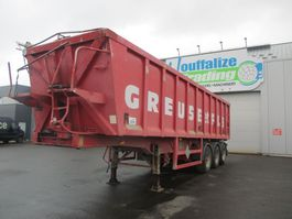 tipper semi trailer OVA 40 m³ - 3 axles tipper 2003