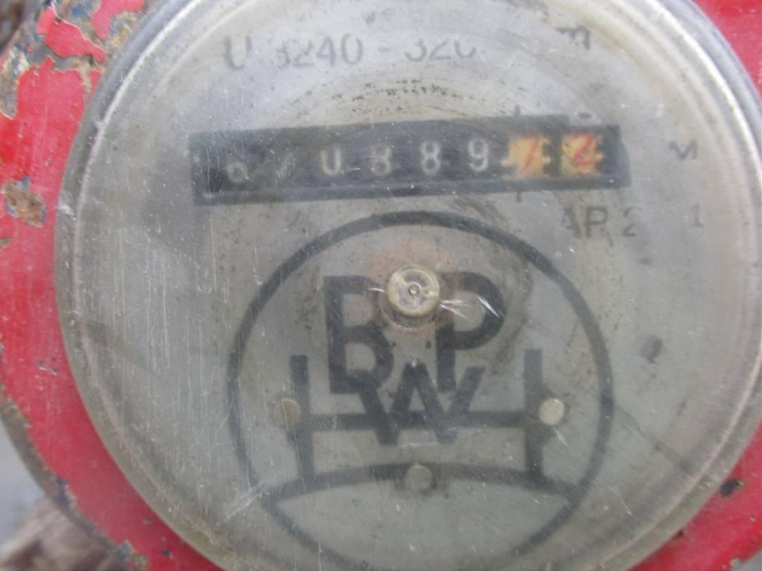 Kippauflieger OVA 40 m³ - 3 axles tipper 2003