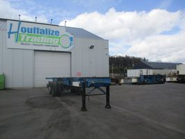 container chassis semi trailer Fruehauf container 2x20' - 1x40' 1978