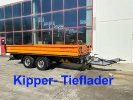 tipper truck > 7.5 t Möslein TDS Schwebheim  13 t Tandemkipper- Tieflader 2016