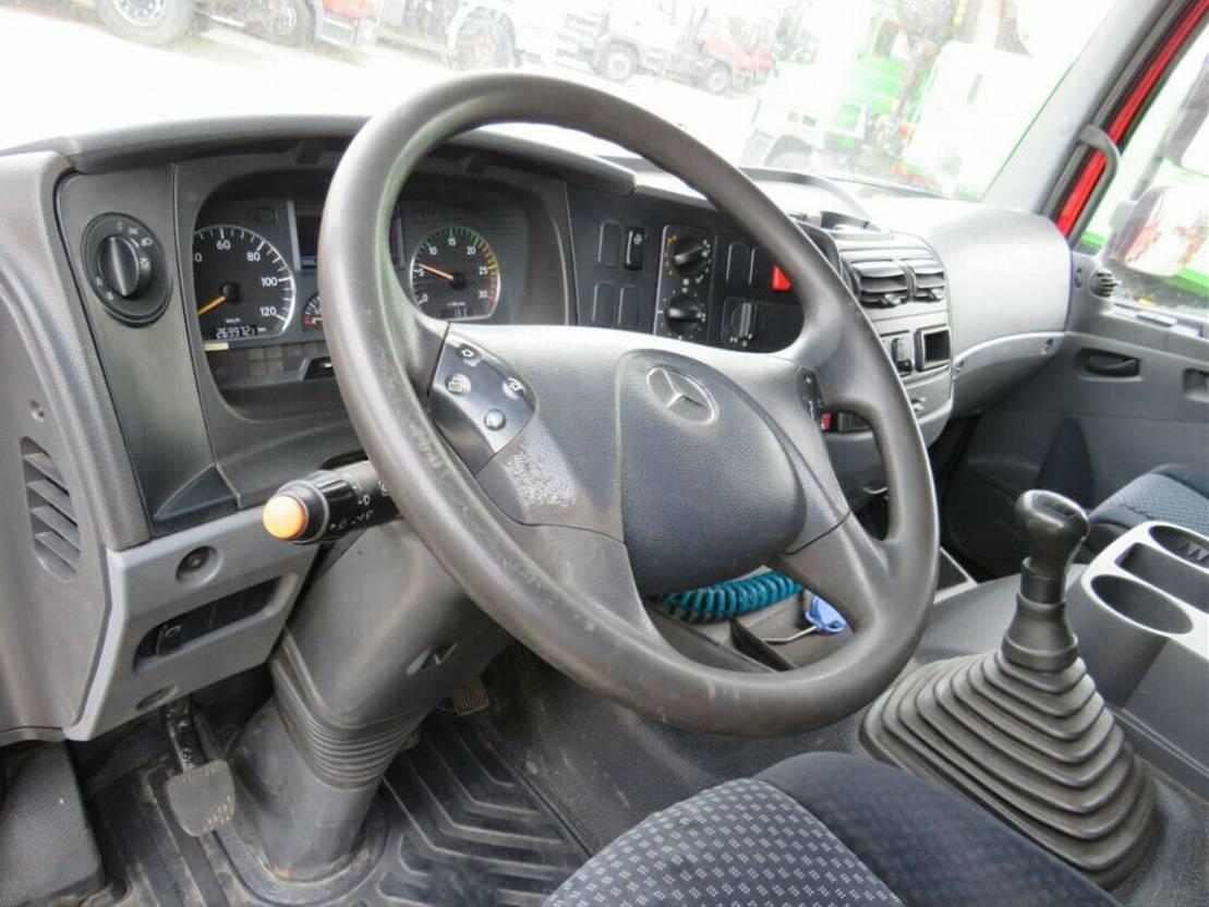 Container-LKW Mercedes-Benz Atego 1529 L Abrollkipper mit Kran 2012