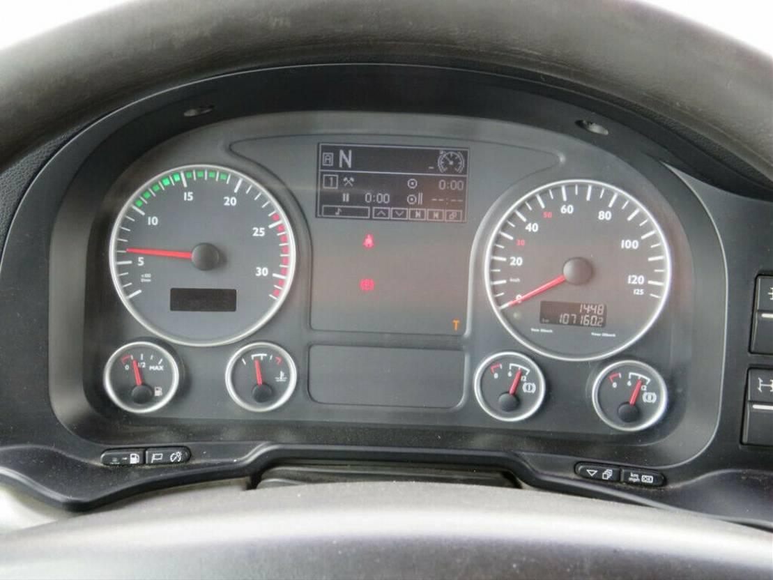 Plattform-LKW MAN TGS 26 6x4 Pritsche Heckkran Hiab 377+Jib 2010